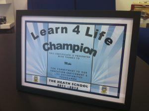 Learn 4 Life Certificate