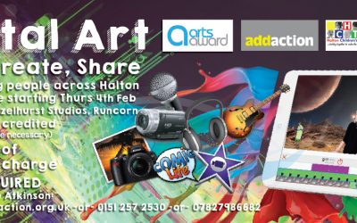 DIGITAL ART, NEET PROJECT – HAZLEHURST STUDIOS, RUNCORN – MARCH 2016