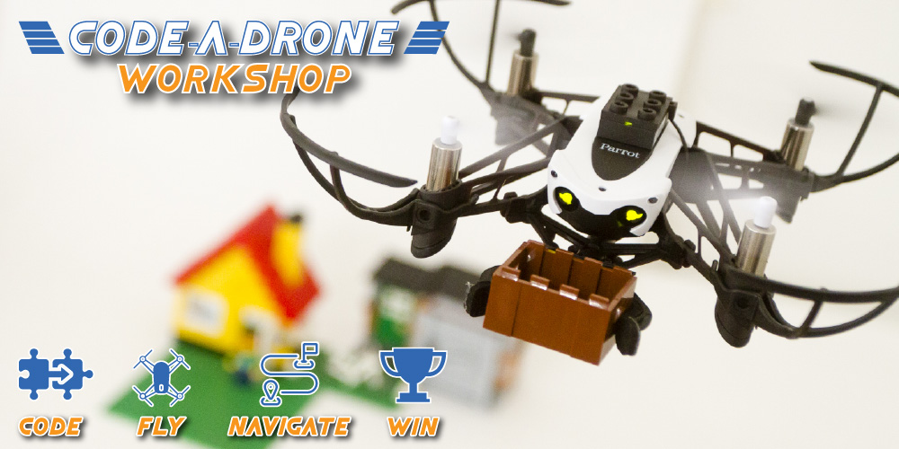 Code-A-Drone Activity   Drop-In   All Ages @ Holmes Chapel Library