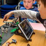 LegoStopMotionTwoBoysiPad