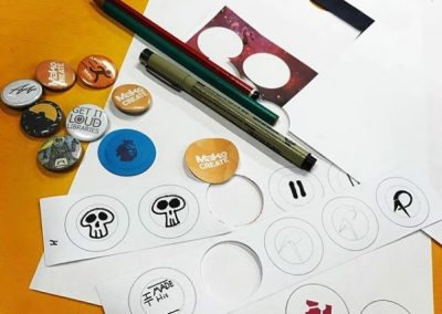 Pin Badge, Design & Make Workshop