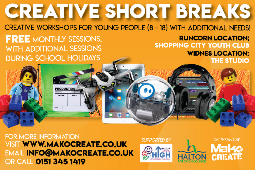 Creative Short Breaks for Halton Young People
