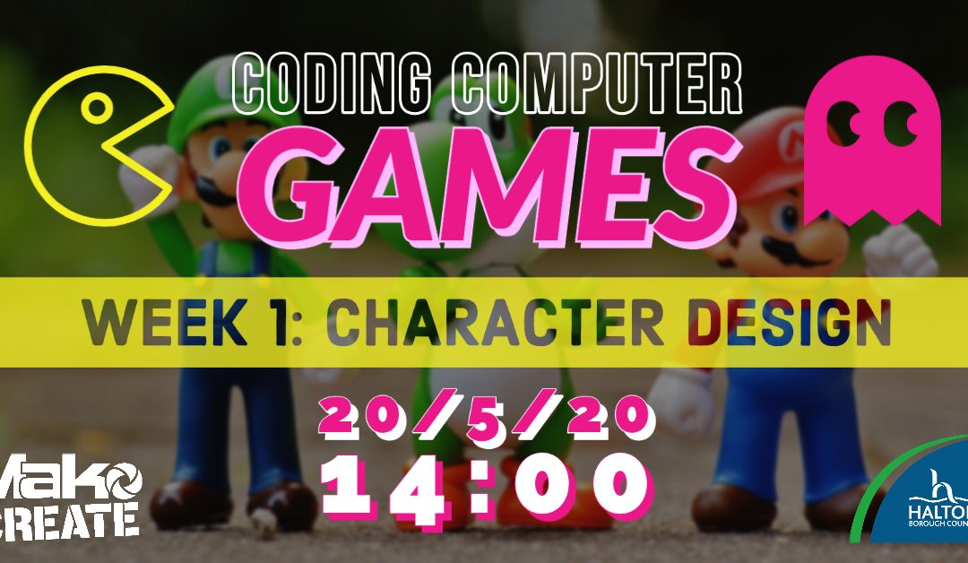 Computer Game Coding: 5 FREE Weekly Live Workshops Starting 20th May 2020