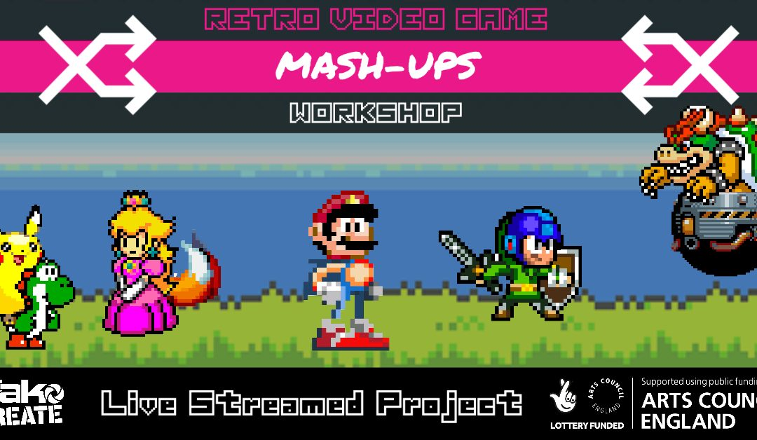 Retro Video Games Mash-Up (Online)