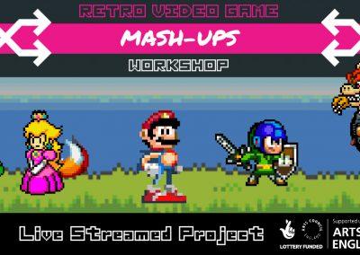 Retro Video Games Mash-Up (Online)