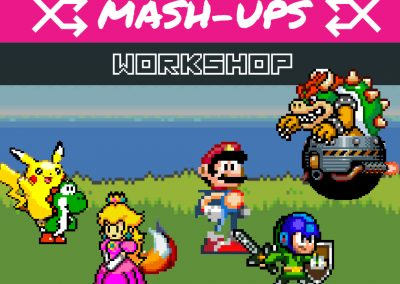 Video Game Design- Retro mash-up!