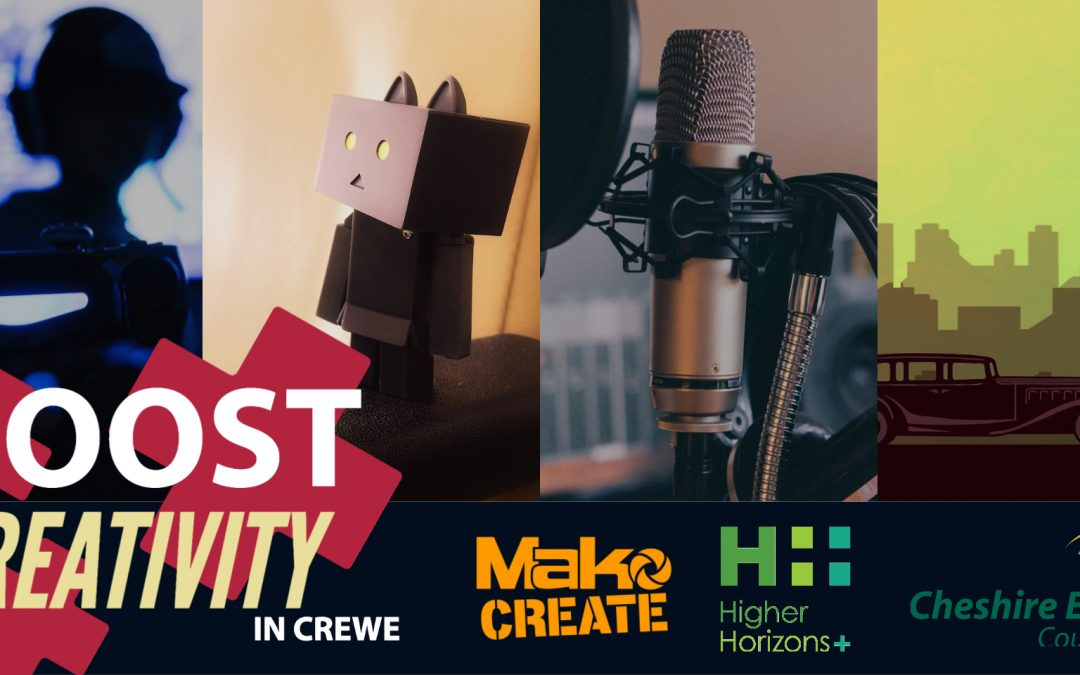 Boost Creativity – Creative Careers In Crewe