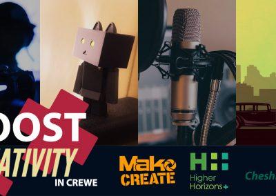 Boost Creativity – Creative Careers In Crewe