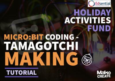 Micro:Bit Coding – Create your own digital pet