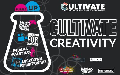 We Are Bubbling Up Halton with Cultivate Creativity