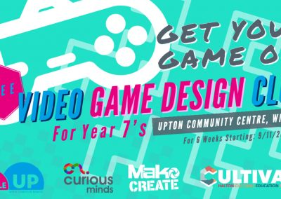 Cultivate Creativity – Year 7 Bubble up! – Video Game Design.