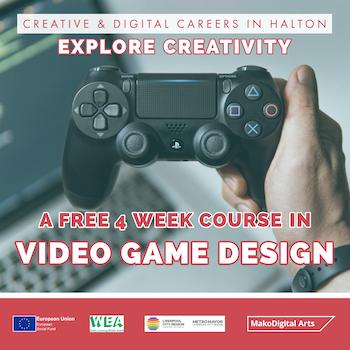Video Game Design | 4 Week Course | Explore Creativity in Halton