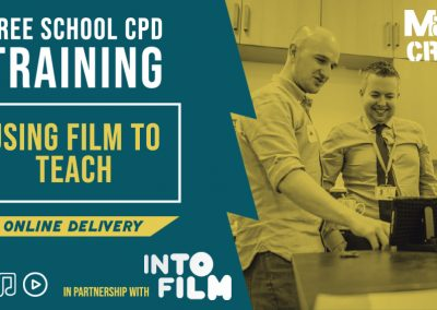 Into Film CPD Training for Teachers in 2020 – 2021