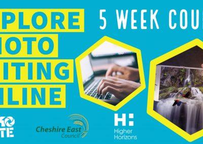 Explore Photo Editing (Online) | Creative Careers in Crewe