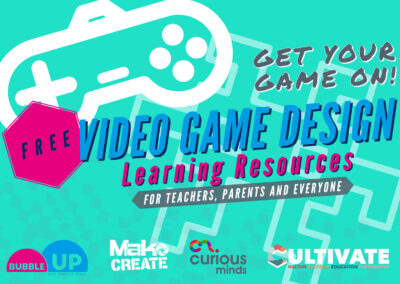 Video Game Design Learning Resources