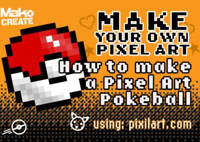 Pixel Art Design – Create your own Pokeball
