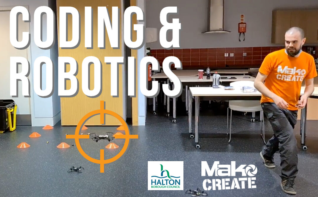 Coding and Robotics with Halton Youth Fund – My first week with Mako Create