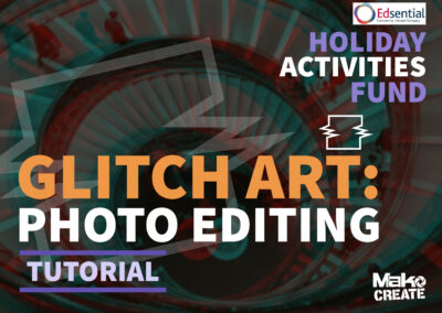 Glitch Art – Simple text-based photo editing