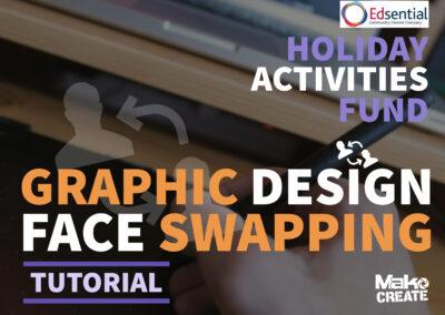Graphic Design – 'Faceswap' explainer